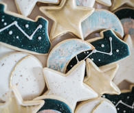 moon and stars cookies