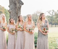 Gorgeous fine art fall wedding at the White Sparrow Barn in Dallas