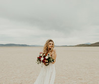 Lunar picnic elopement in the Alvord Desert