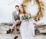 Moon and stars fall wedding Italian-style in Puglia