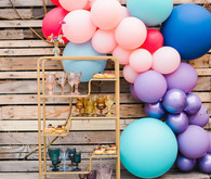 Ultra colorful modern Bat Mitzvah