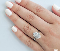 Rockher engagement rings