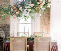 Hanging floral arrangment