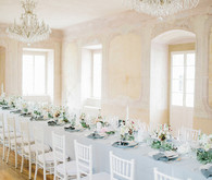 Sweet spring countryside wedding at Castle Bon Repos outside of Prague