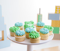 Modern city-themed boy's birthday party ideas