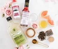 Cardamom Rose cocktail for Valentine's Day