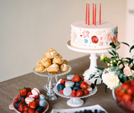 The sweetest french-themed picnic birthday party