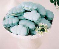cloud macarons