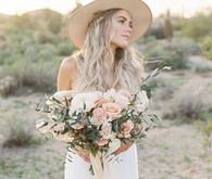 Desert chich bridal fashion ideas in Arizona