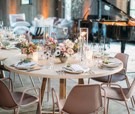Modern rustic barn wedding