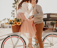 Ferris wheel engagement session + how to style your own