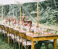 How to pull off an elegant backyard brunch wedding this fall