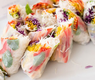 Spring roll appetizers