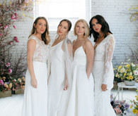 Modern bridal dresses by The Dress Theory