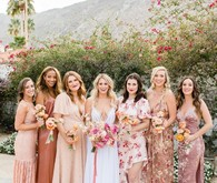 Milennial Pink Boho Dream Wedding at Korakia in Palm Springs