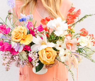 Bright spring florals