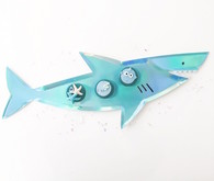 Baby shark themed 1st birthday party