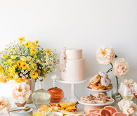 Modern brunch bridal shower