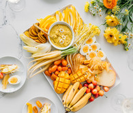 Yellow grazing board
