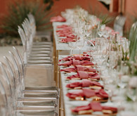 Pink tablescape ideas