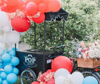 Red, white, and blue party ideas
