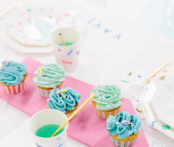 Colorful kids birthday party ideas