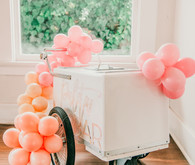 Balloon installation for kids birthday