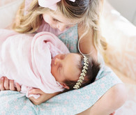 Pastel newborn photos