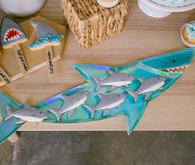Boys shark themed birthday
