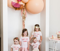 Birds of Feather Flock Together girl's birthday party