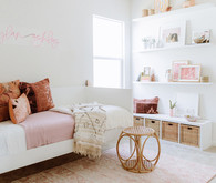 Desert inspired kids bedroom decor