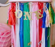 1st birthday party decor