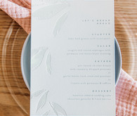 Minted wedding signage