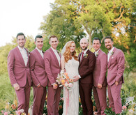 Summer groomsmen suits