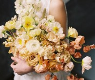 Ombre fall bridal bouquet