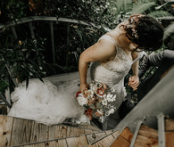 Romantic Austin greenhouse wedding