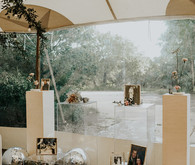Disco balls for wedding decor