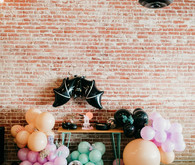 Pastel Halloween decor