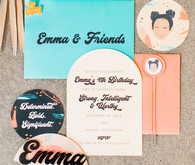 Girls birthday party invites