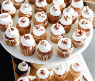 Mini cupcakes for fall party
