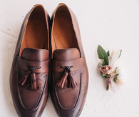 Fall groom's shoes