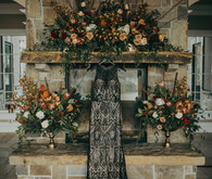 Black wedding dress for NYE wedding