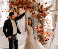 How to design a lush fall wedding at an indoor venue