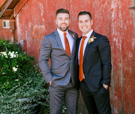 Fall grooms fashion