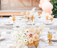 neutral centerpiece ideas