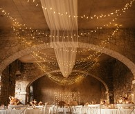 wedding reception in a medieval castle