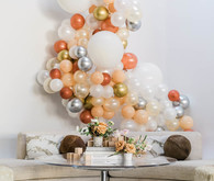 baby shower balloon installation