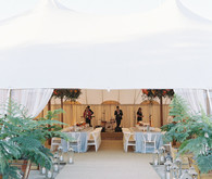 Elegent tented reception