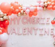 Valentine's Day balloon decor