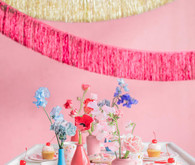 Valentine's Day fringe decor